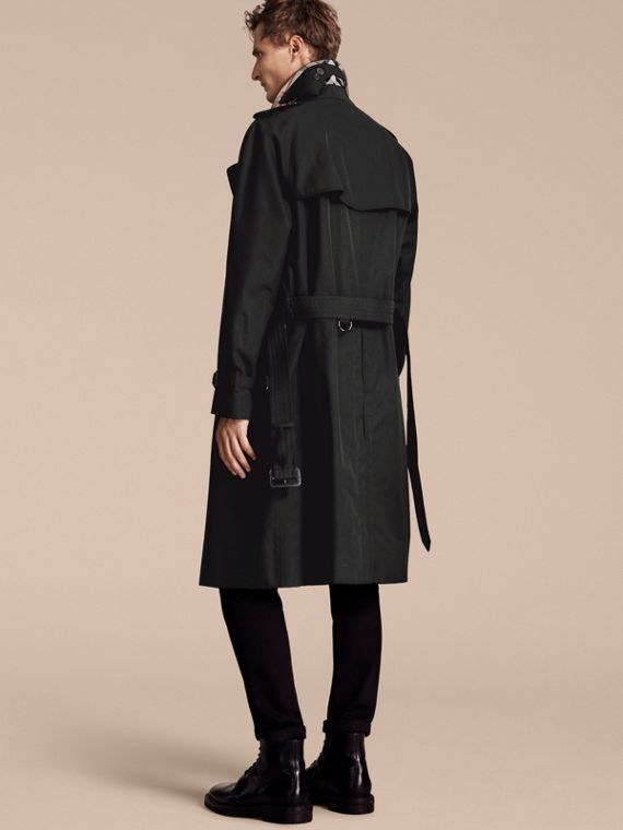 Black The Westminster – Long Heritage Trench Coat Black - cell image 2
