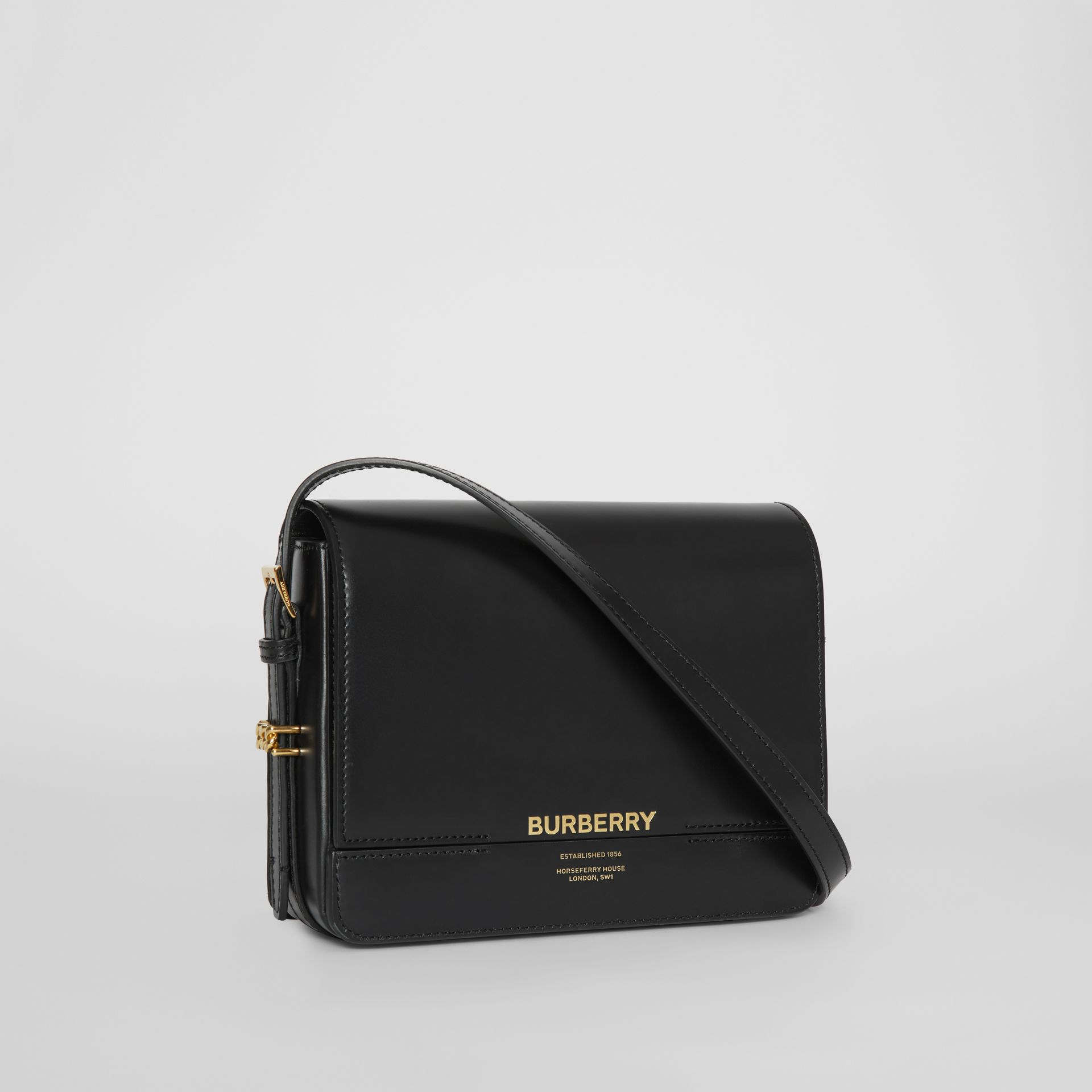 Small Leather Grace Bag in Black - Women | Burberry - gallery image 6