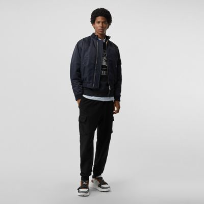 Padded Nylon Bomber Jacket by Burberry