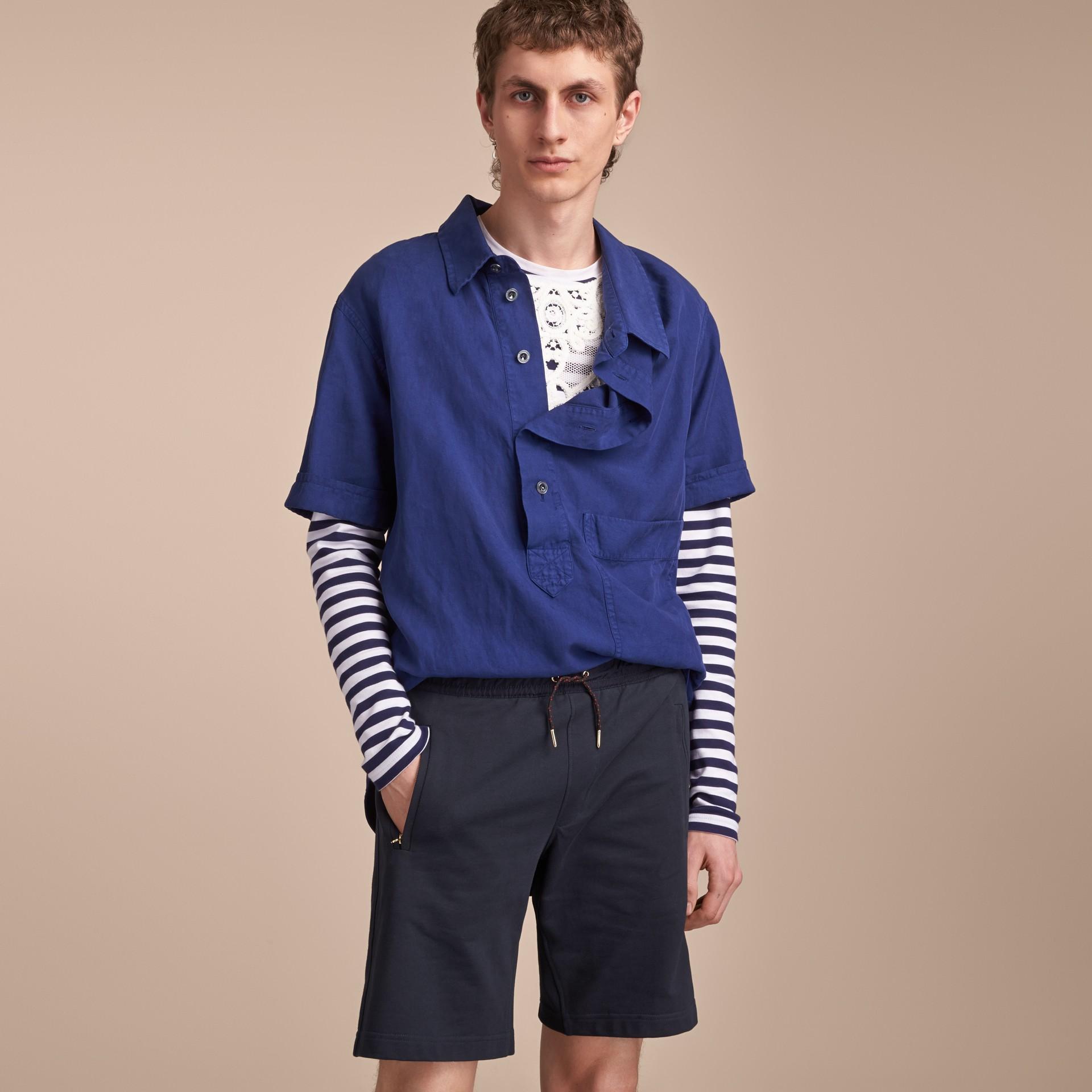 Lightweight Cotton Jersey Shorts - gallery image 6