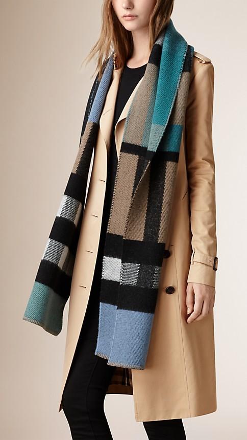 Cashmere Blanket Scarf Blanket Scarf Image 3