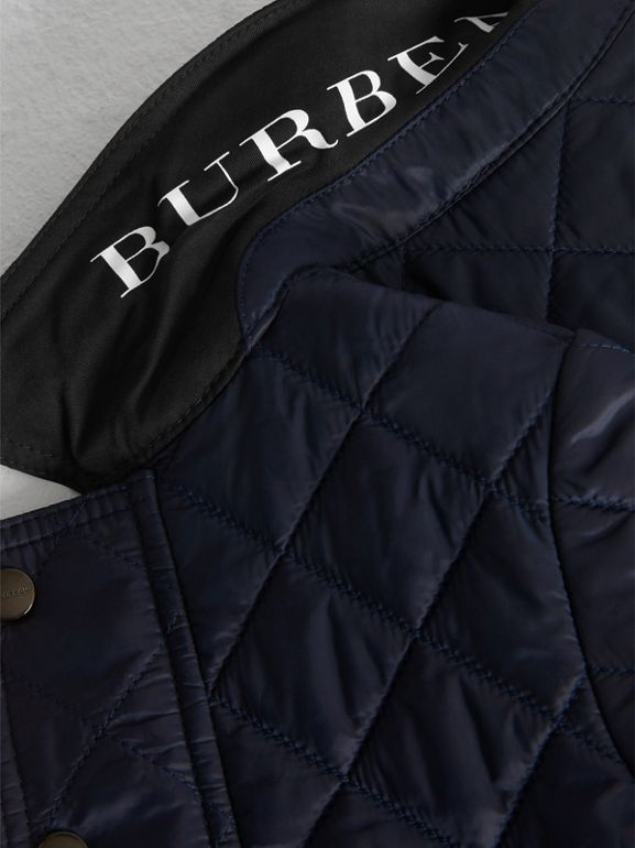 Lightweight Diamond Quilted Jacket in Ink - Children | Burberry United Kingdom - cell image 1