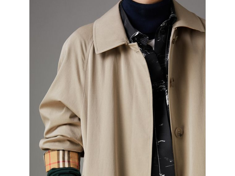 The Camden Car Coat in Sandstone - Women | Burberry - cell image 1