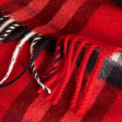 Burberry - Mini écharpe classique en cachemire à motif check - 3