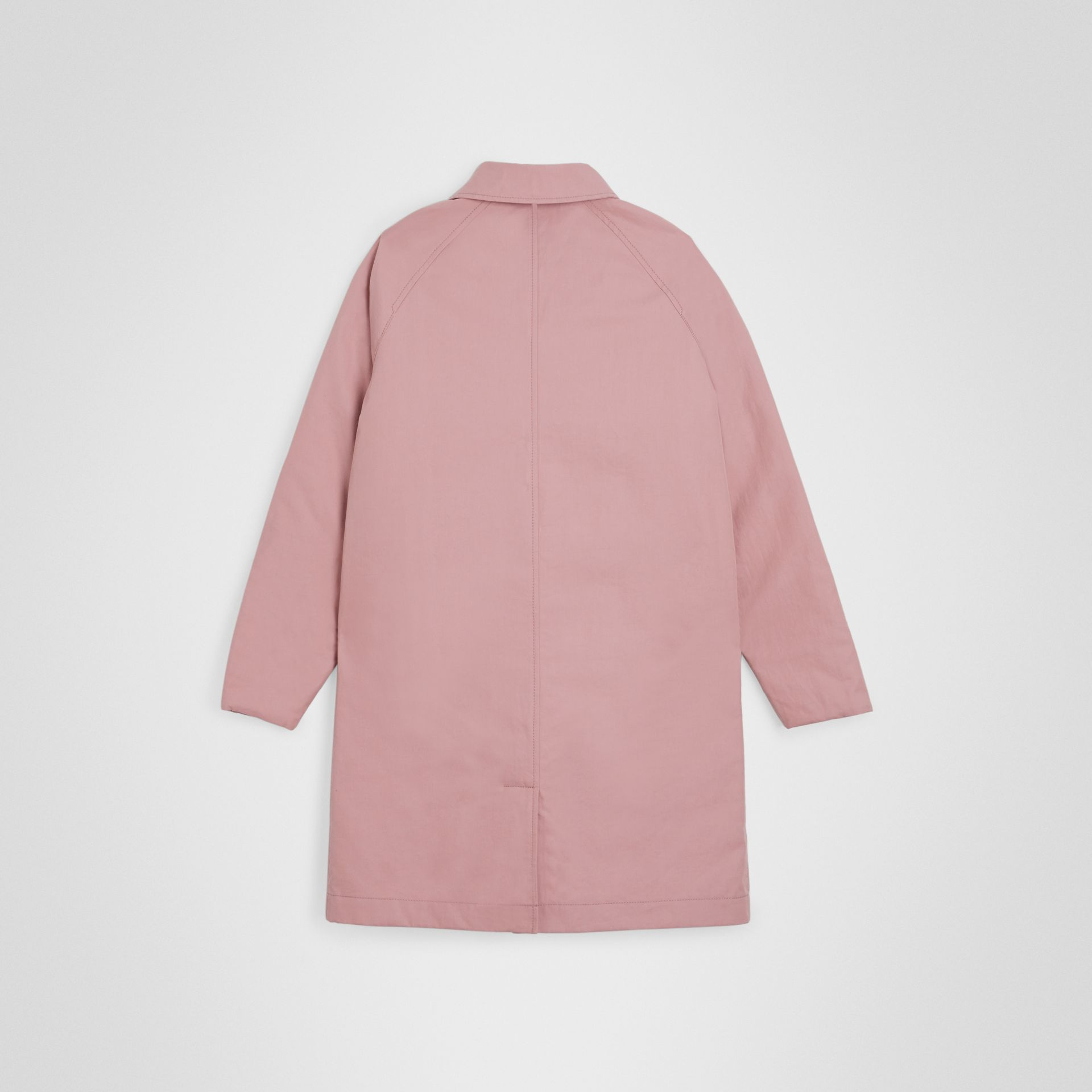 Paletot réversible en gabardine tropicale (Rose Craie) | Burberry Canada - photo de la galerie 4