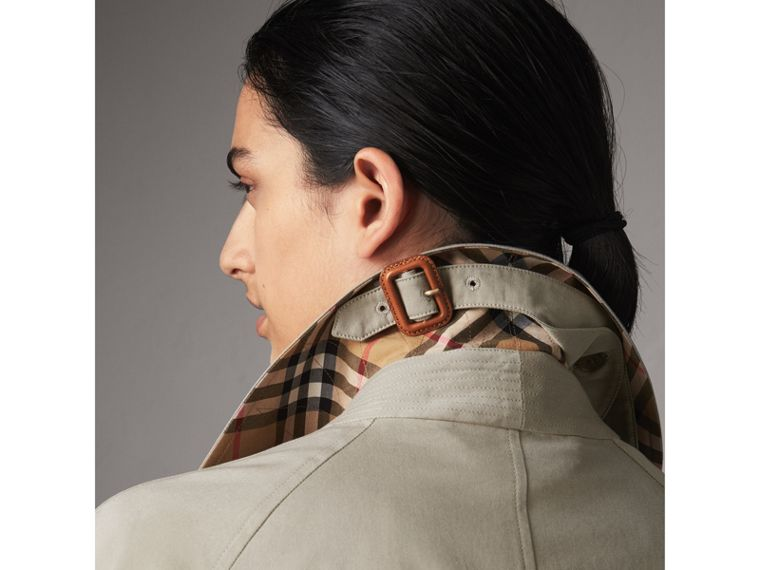 The Brighton – Extra-long Car Coat in Sandstone - Women | Burberry - cell image 1