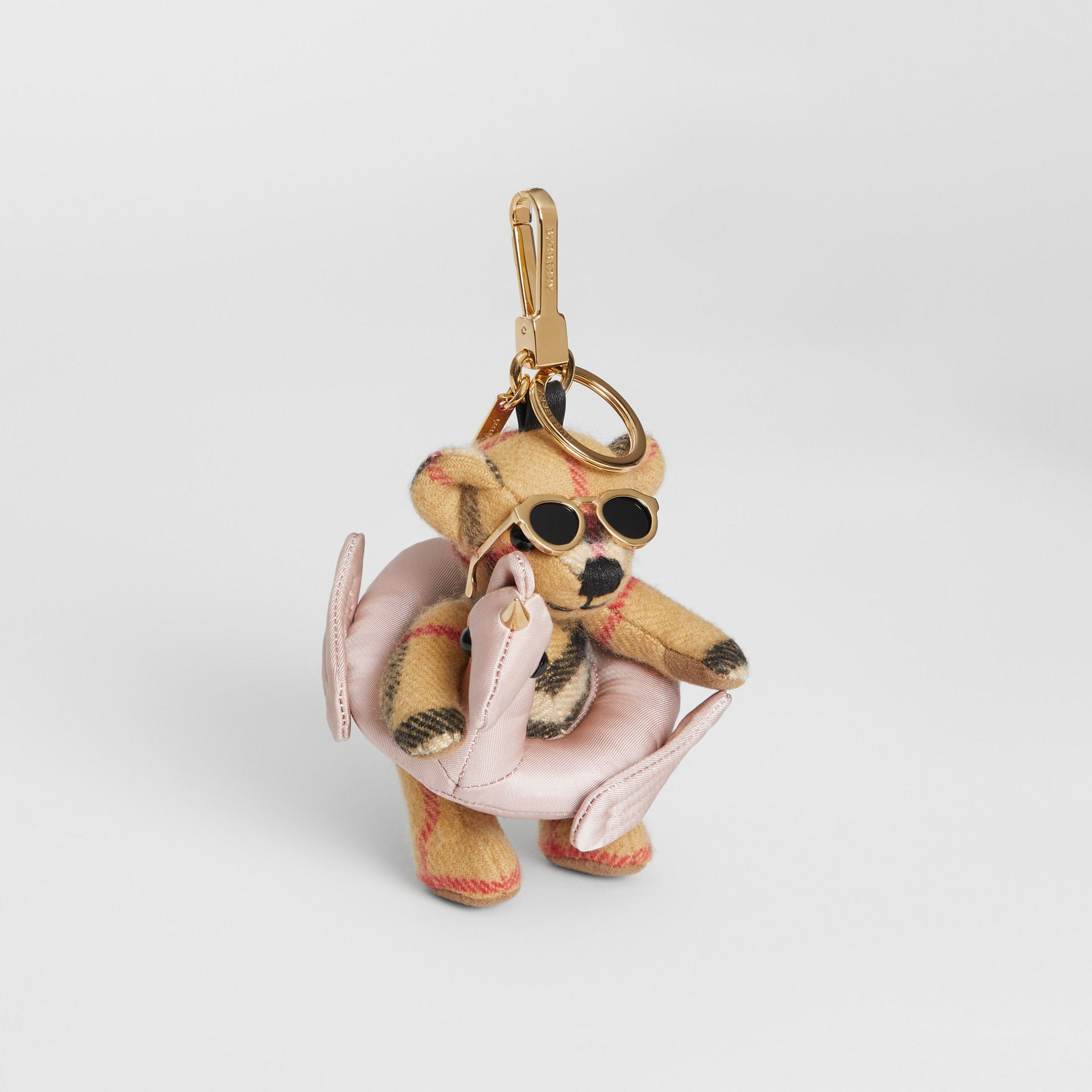 Thomas Bear Charm in Pool Float in Antique Yellow - Women | Burberry - gallery image 0