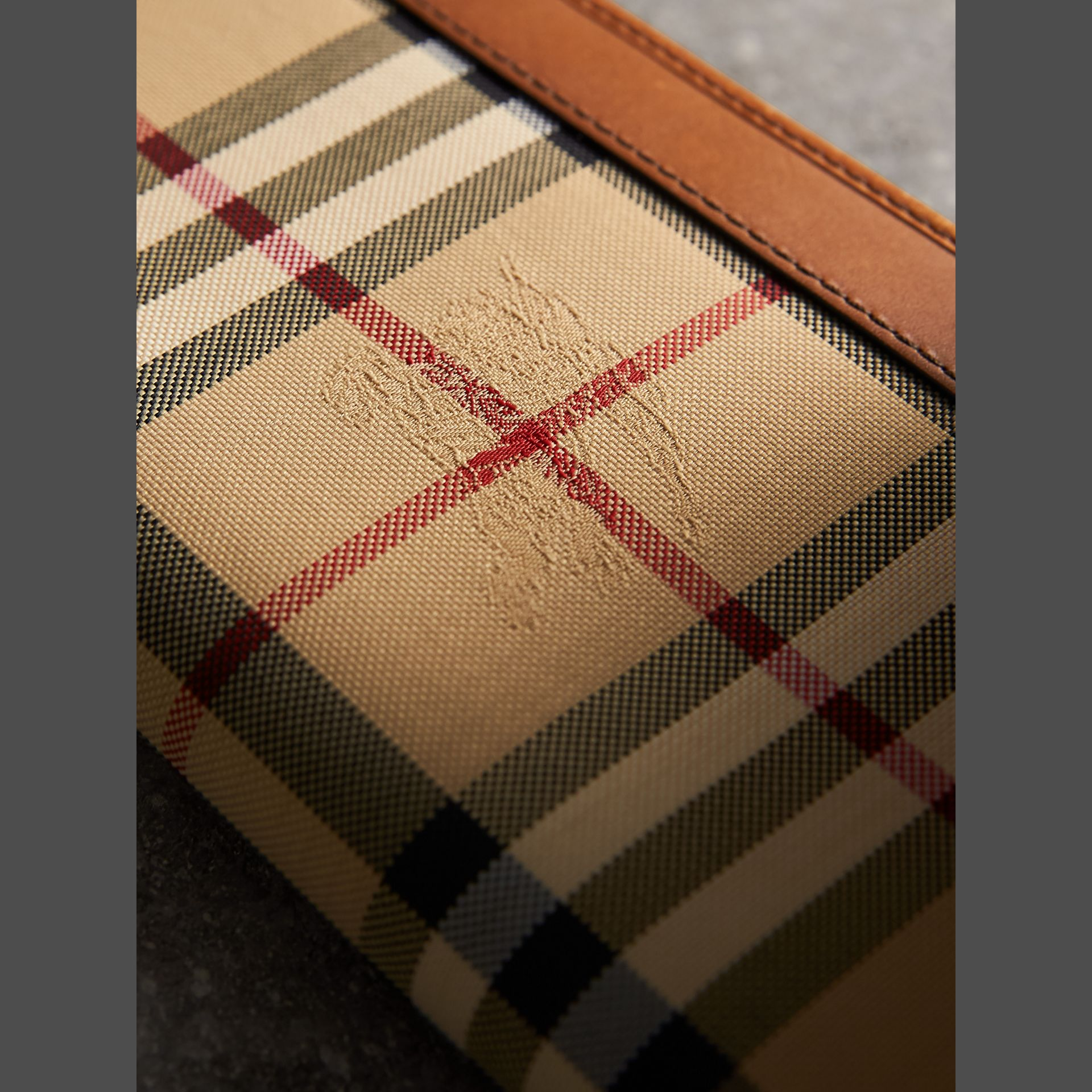 Horseferry Check Ziparound Wallet in Tan - Men | Burberry - gallery image 2