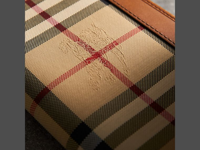 Horseferry Check Ziparound Wallet in Tan - Men | Burberry - cell image 1