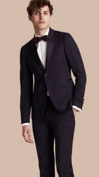 Slim Fit Wool Tuxedo Jacket