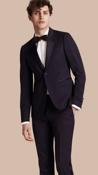 Slim Fit Wool Tuxedo Jacket