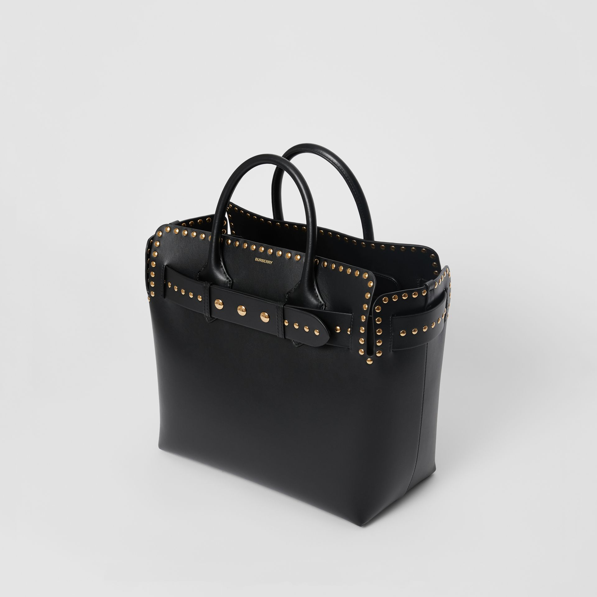 The Medium Studded Leather Triple Stud Belt Bag in Black - Women | Burberry United Kingdom - gallery image 2