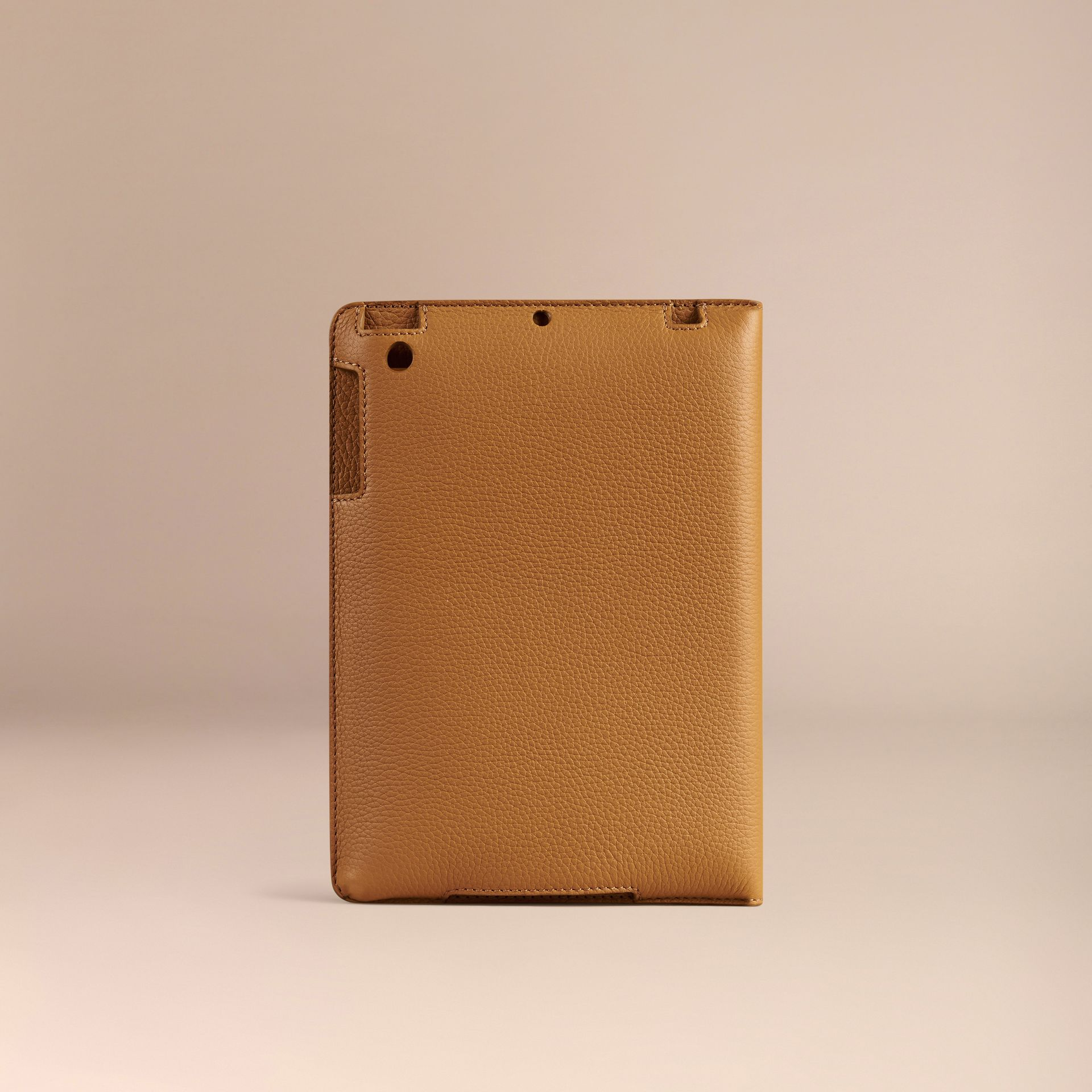 Ochre yellow Grainy Leather iPad Mini Case Ochre Yellow - gallery image 3