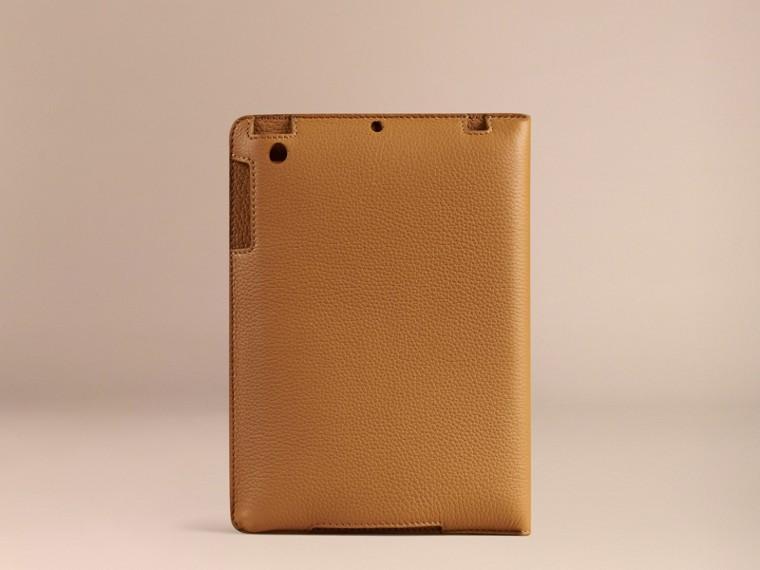 Ochre yellow Grainy Leather iPad Mini Case Ochre Yellow - cell image 2