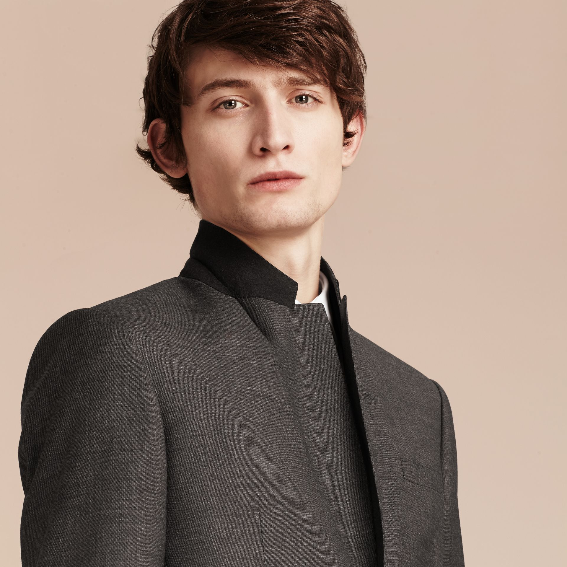Modern Fit Travel Tailoring Virgin Wool Suit - Men | Burberry - gallery image 7