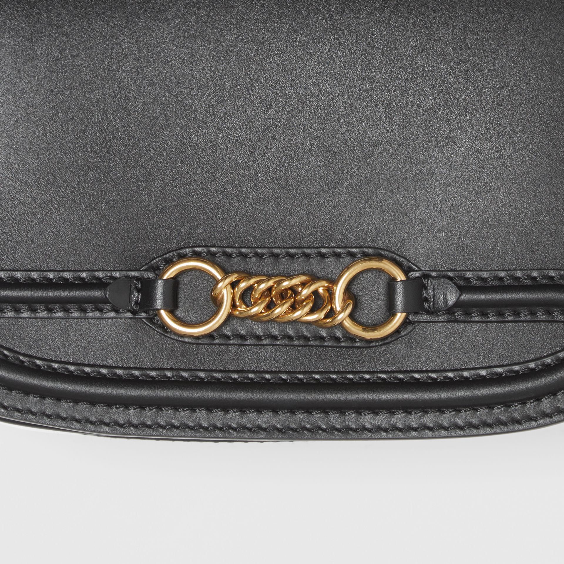 Sac The Link en cuir (Noir) - Femme | Burberry - photo de la galerie 1