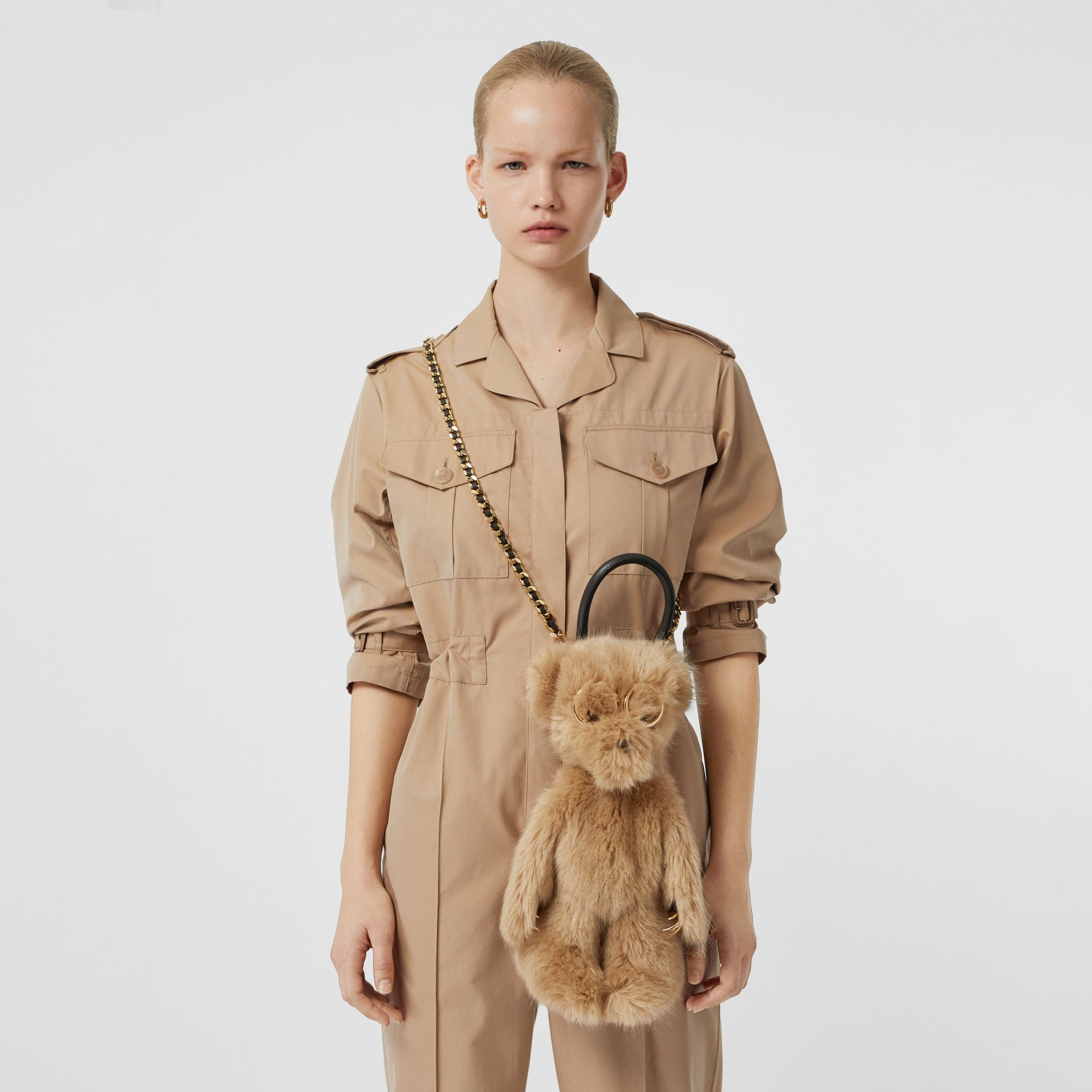 The Thomas Bear Shoulder Bag in Beige - Women | Burberry Australia - gallery image 6