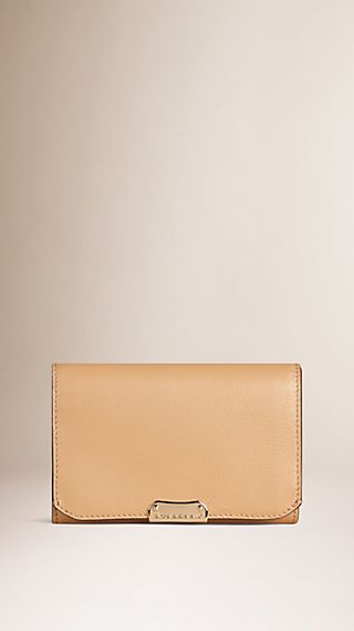 Smooth Leather Continental Wallet