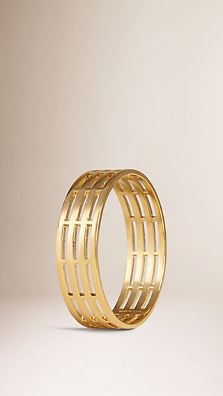 Cut-out Brass Cuff