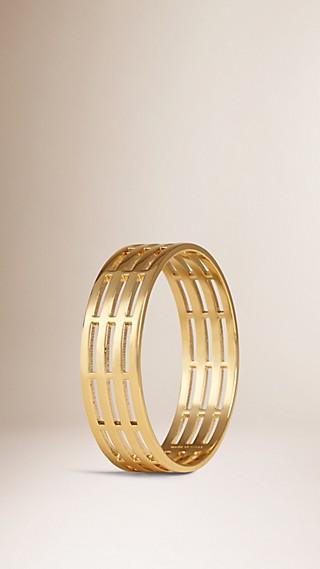 Bracelet manchette en laiton