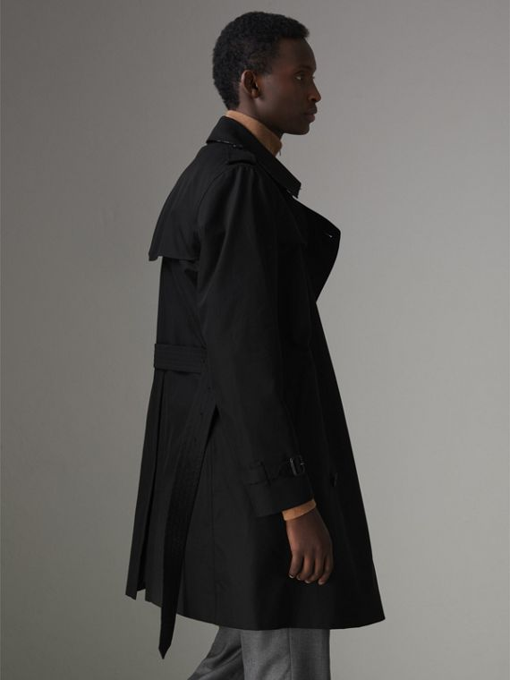 The Kensington - Trench coat Heritage (Preto) - Homens | Burberry - cell image 2