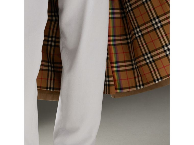 Trench coat de gabardine tropical (Mel) | Burberry - cell image 4