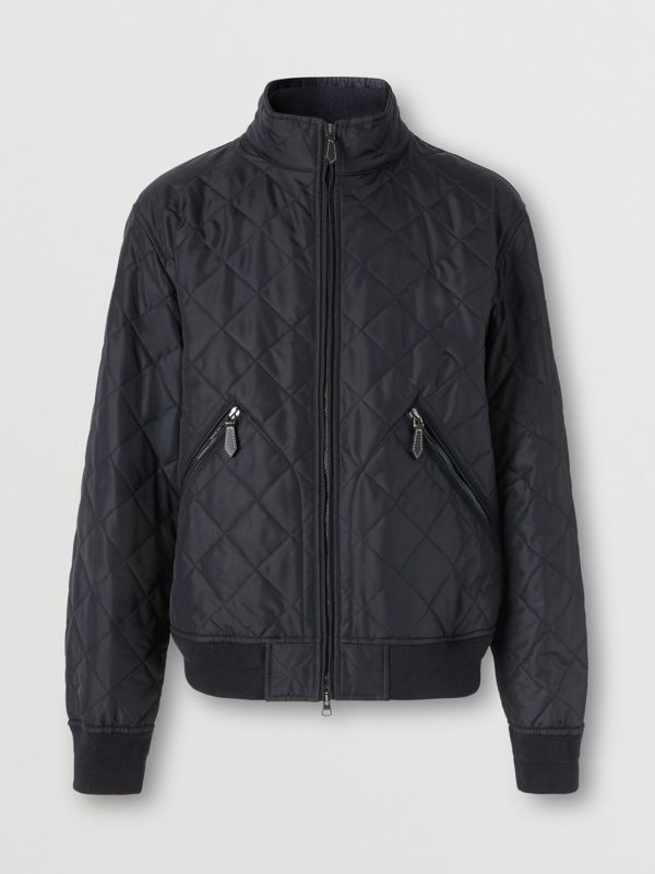 Thermoregulierende Jacke in Rautensteppung (Marineblau) - Herren | Burberry - cell image 3