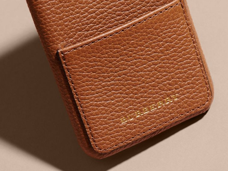 Grainy Leather iPhone 6 Case - Women | Burberry - cell image 1