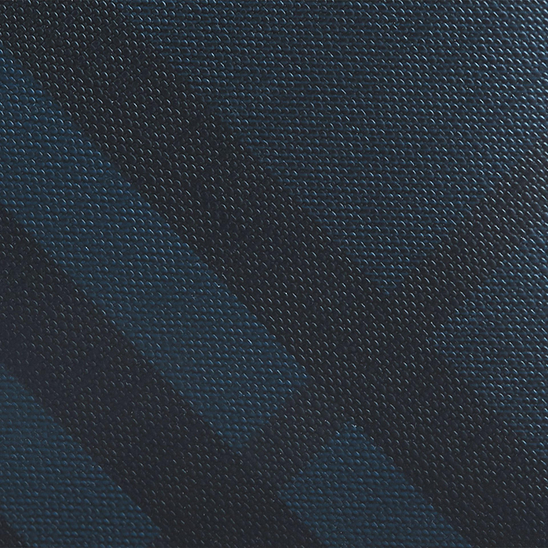London Check International Bifold Coin Wallet in Navy/black - Men | Burberry Hong Kong - gallery image 2