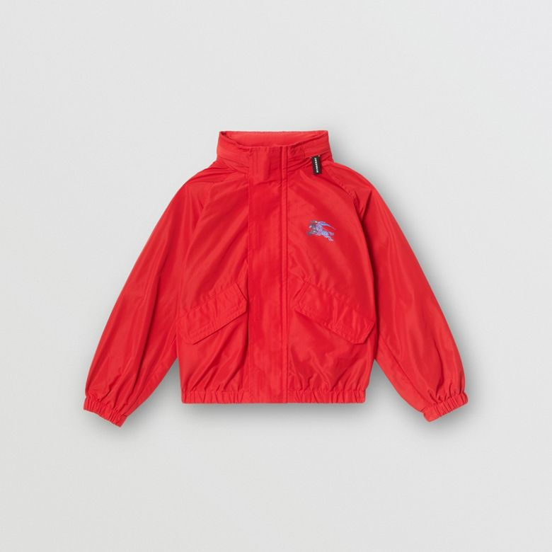 Burberry - Jacke aus Taft mit Memory-Effekt und packbarer Kapuze - 1
