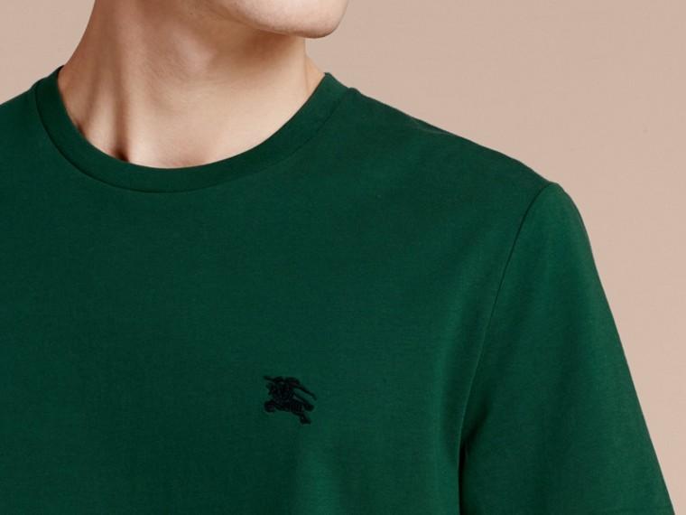 Vert racing T-shirt en coton ultra-doux Vert Racing - cell image 4