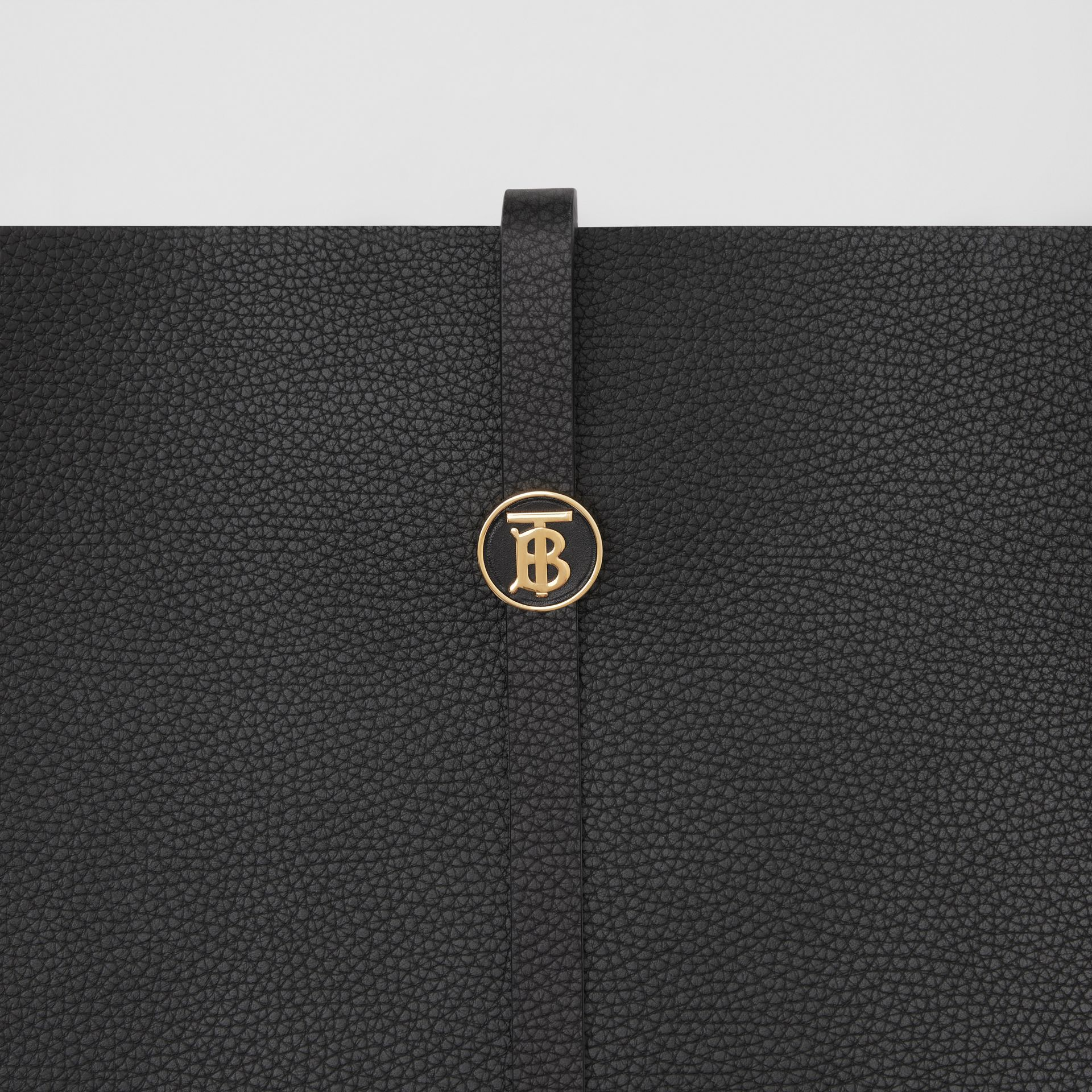 Grainy Leather Anne Bag in Black - Women   Burberry United Kingdom - gallery image 1