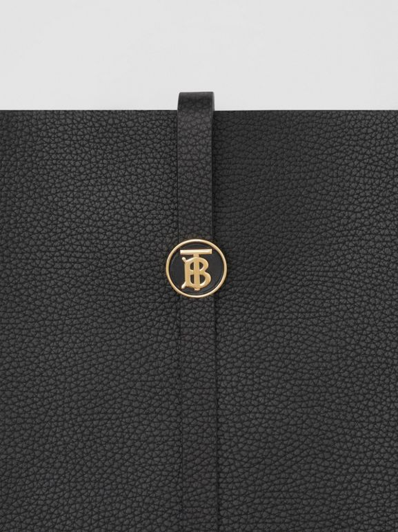 Grainy Leather Anne Bag in Black - Women | Burberry - cell image 1