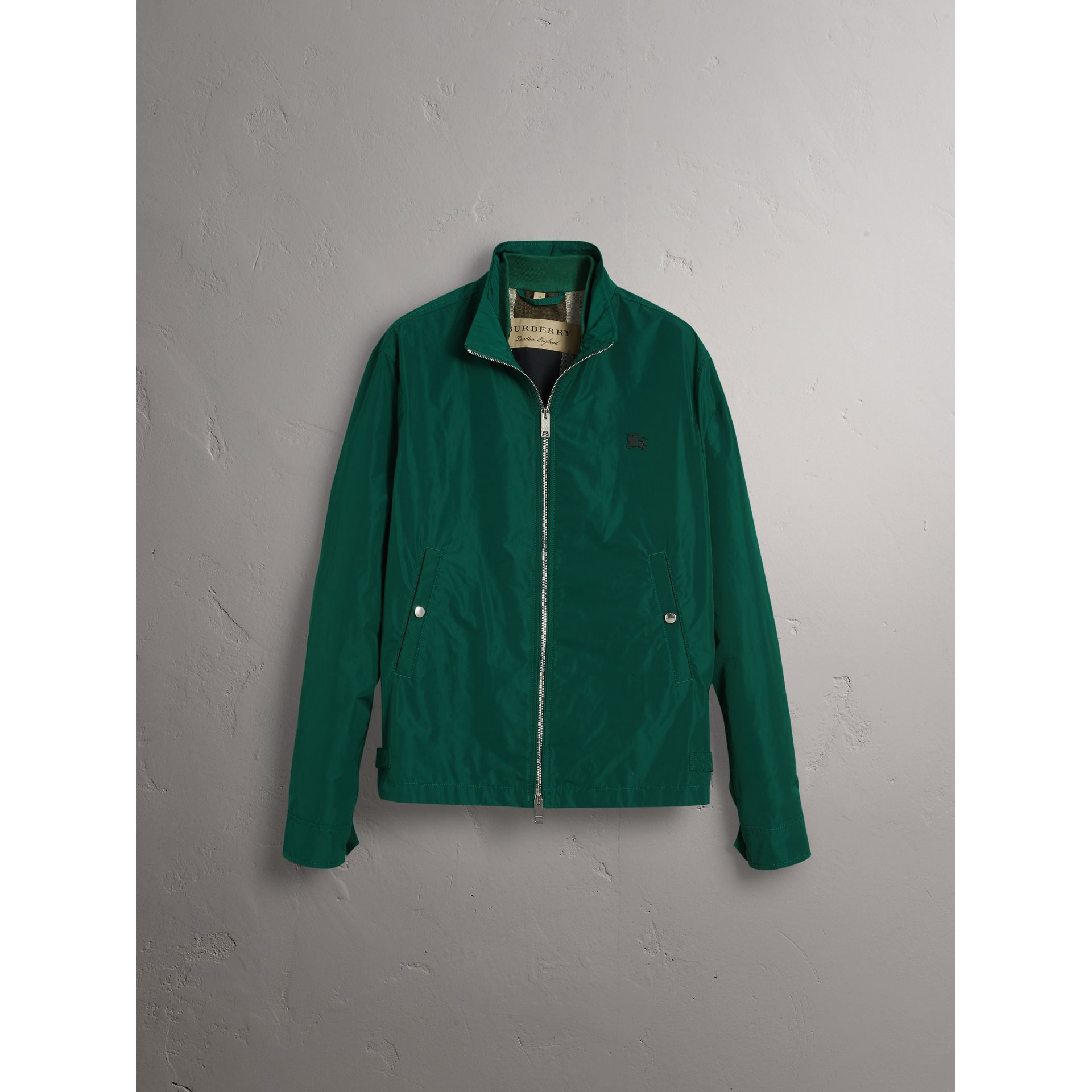 Lightweight Technical Jacket in Racing Green - Men | Burberry - gallery image 9