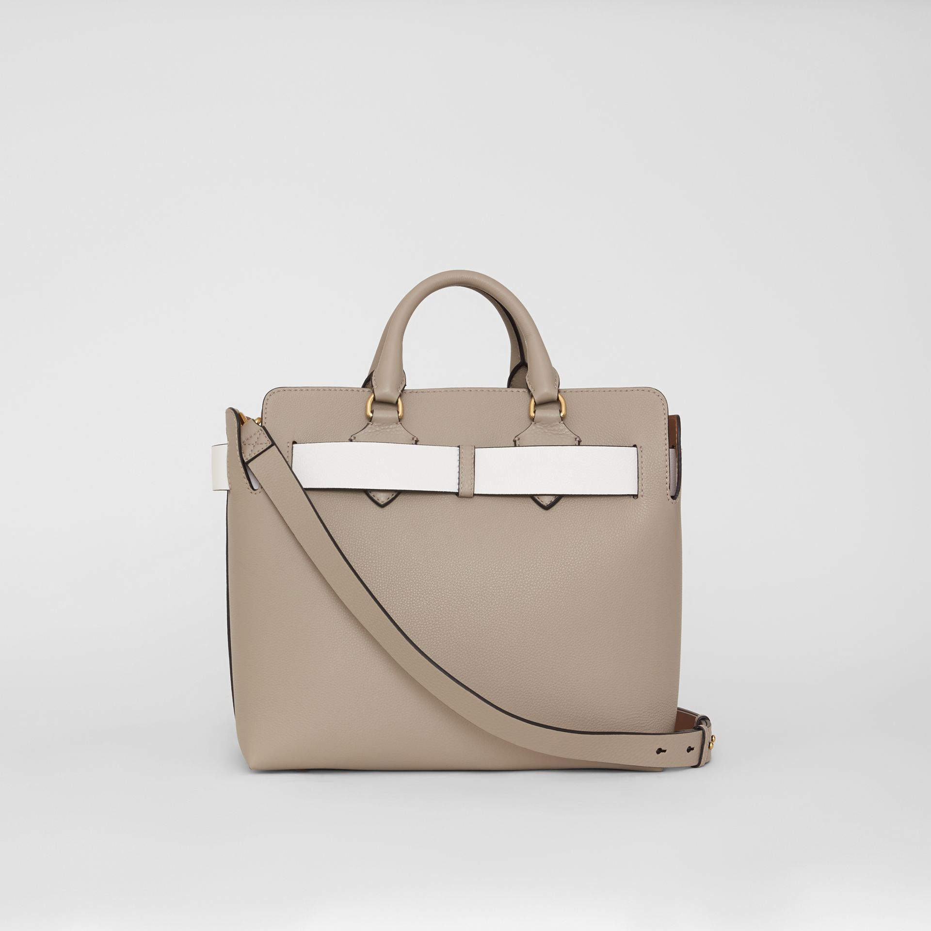 The Medium Leather Belt Bag in Mineral Grey - Women | Burberry Australia - gallery image 6