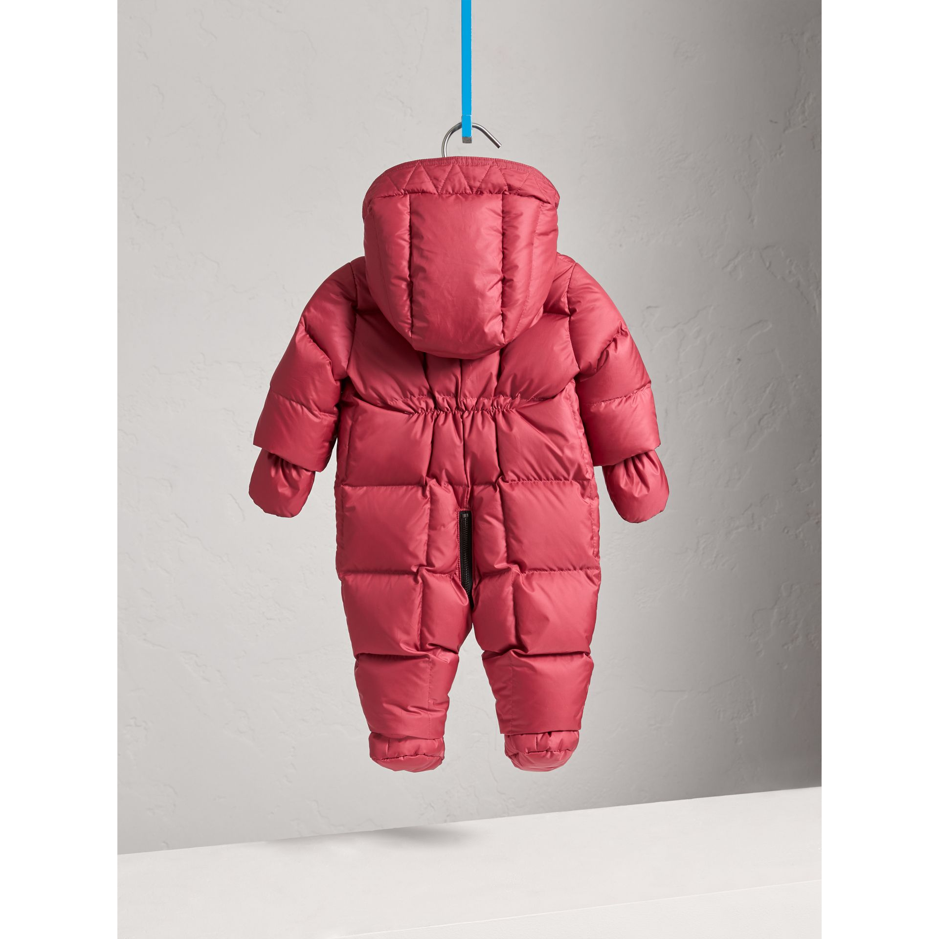 Down-filled Puffer Suit in Peony Rose | Burberry United Kingdom - gallery image 3