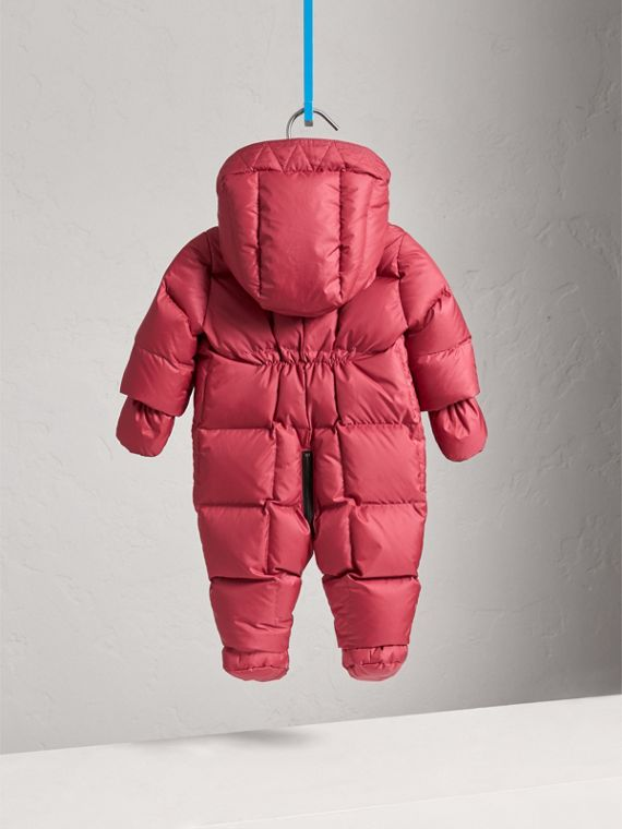 Down-filled Puffer Suit in Peony Rose | Burberry United Kingdom - cell image 3