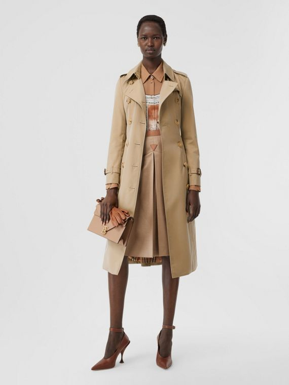 The Chelsea - Trench coat Heritage longo (Mel)