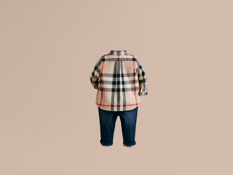 New classic Check Cotton Shirt - cell image 2