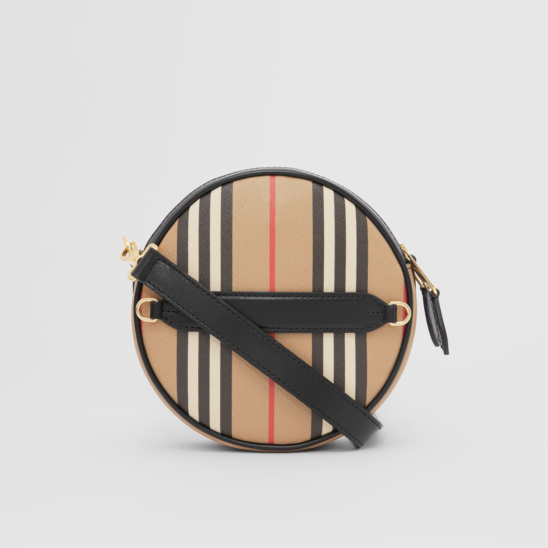 Icon Stripe E-canvas Louise Bag in Archive Beige | Burberry - gallery image 7