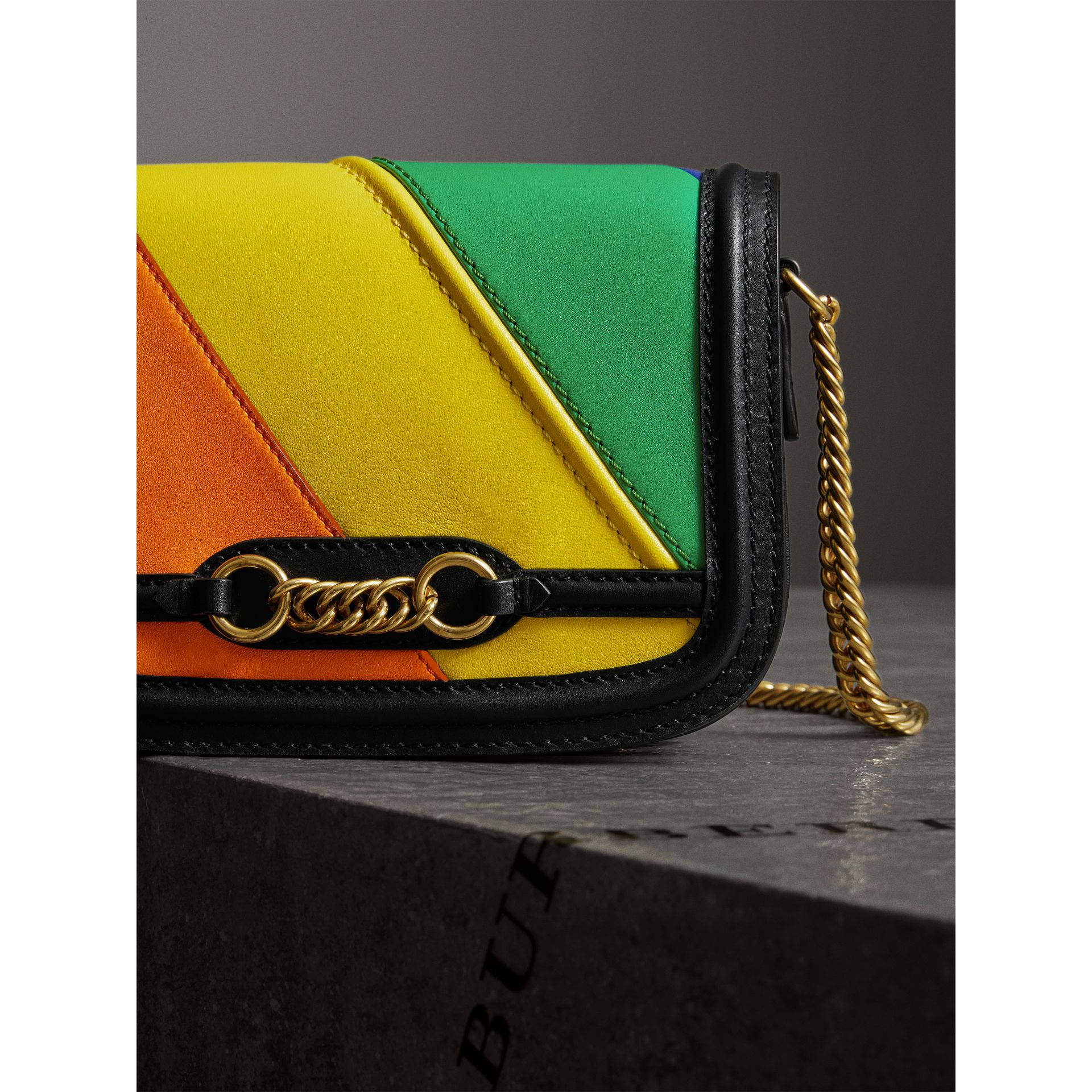 The Rainbow Leather Link Bag - Women | Burberry Hong Kong - gallery image 4