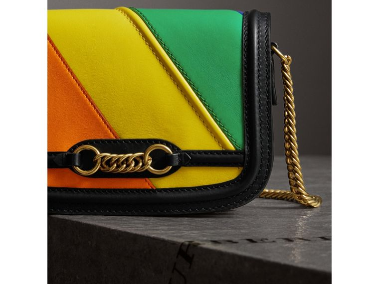 The Rainbow Leather Link Bag - Women | Burberry United States - cell image 4