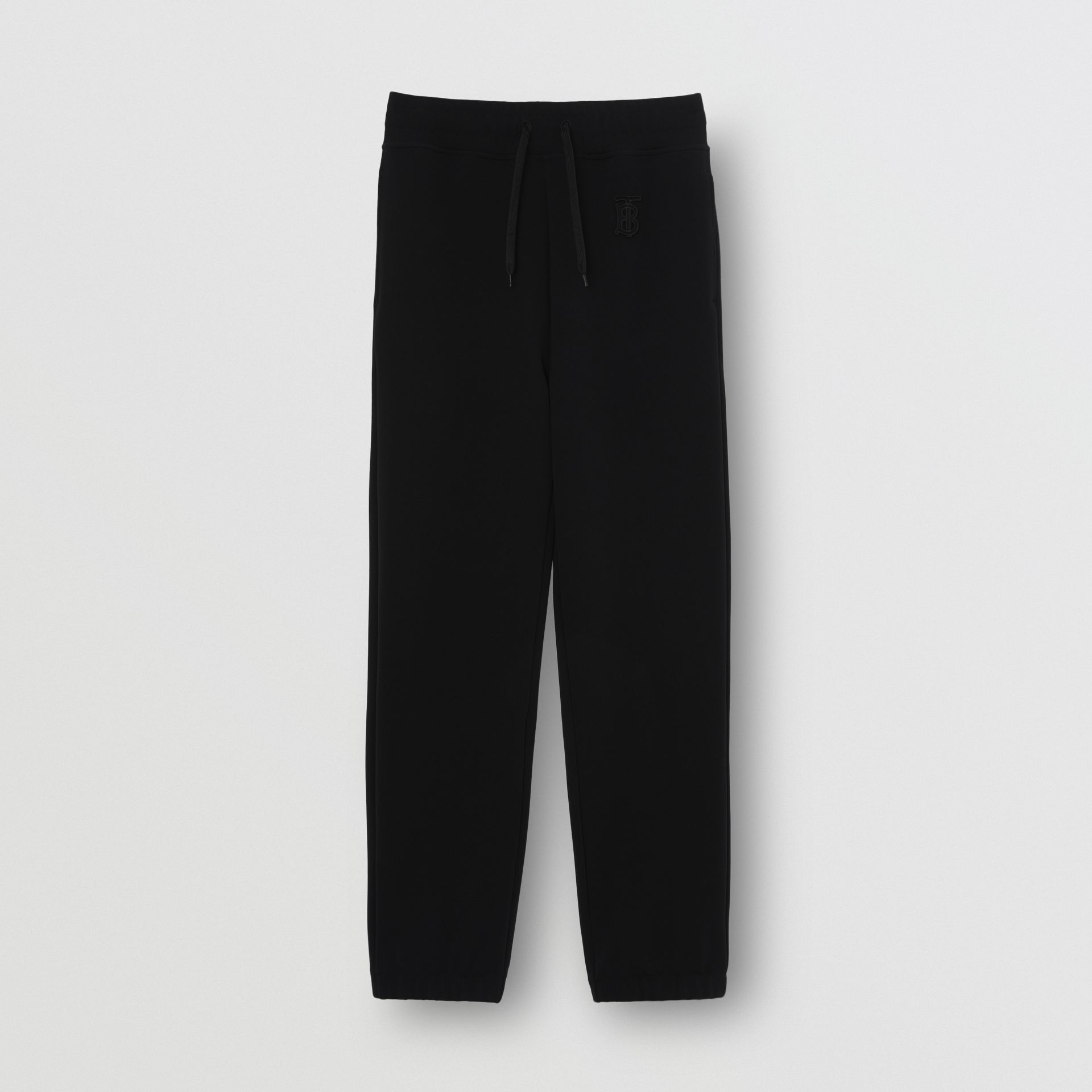 Monogram Motif Technical Trackpants in Black - Women | Burberry United States - gallery image 3