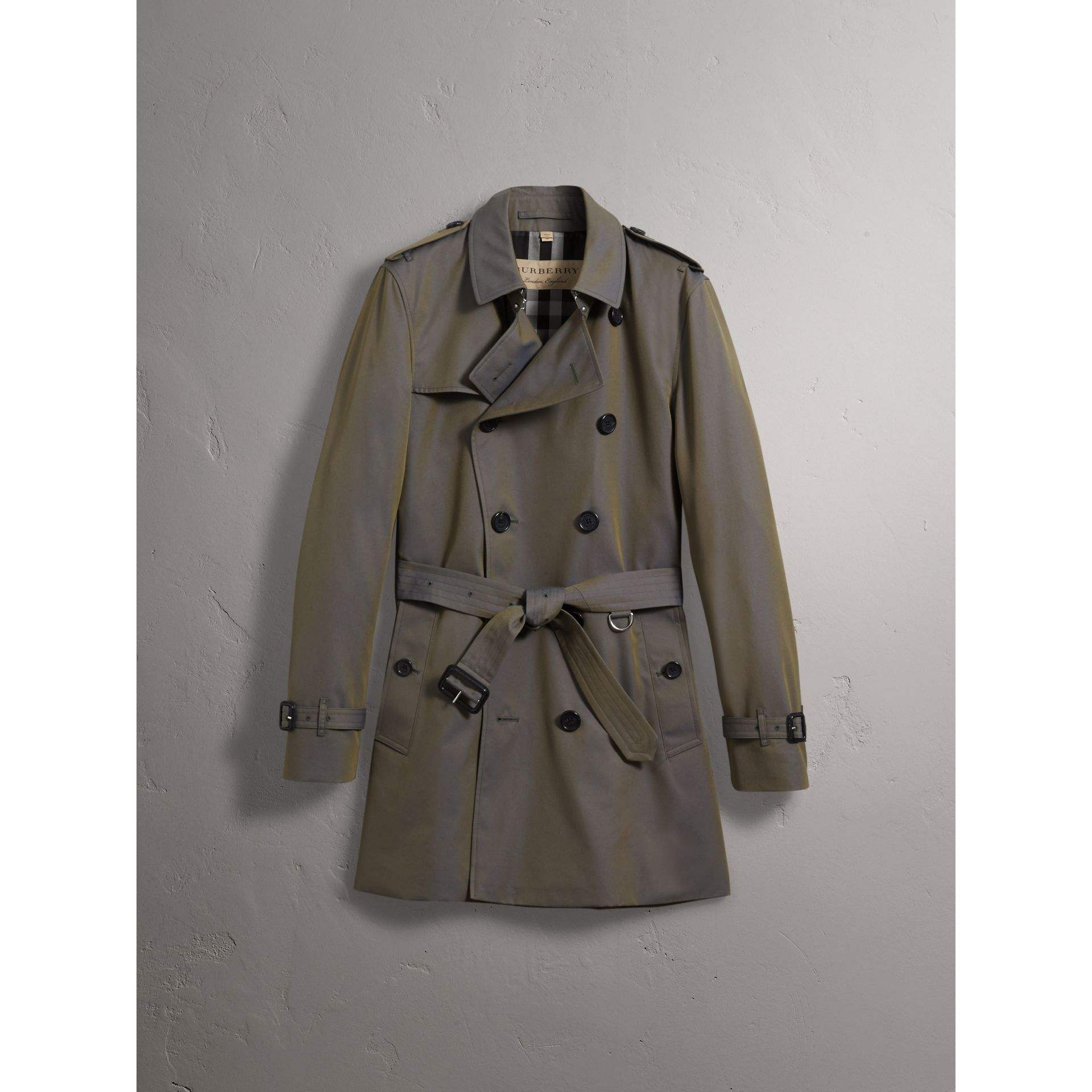 Cotton Gabardine Trench Coat - Men | Burberry Canada - gallery image 3