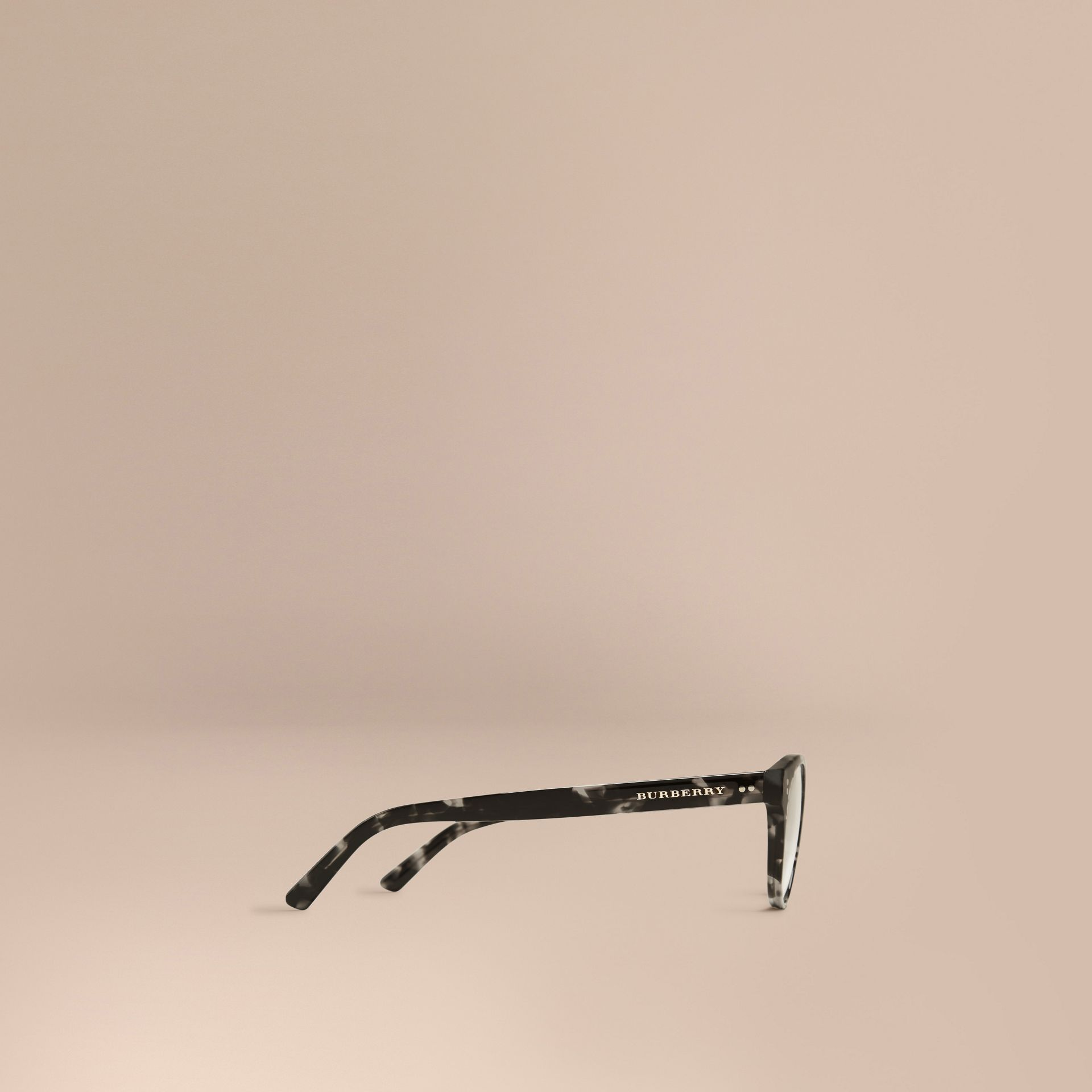 Round Optical Frames Grey - gallery image 4
