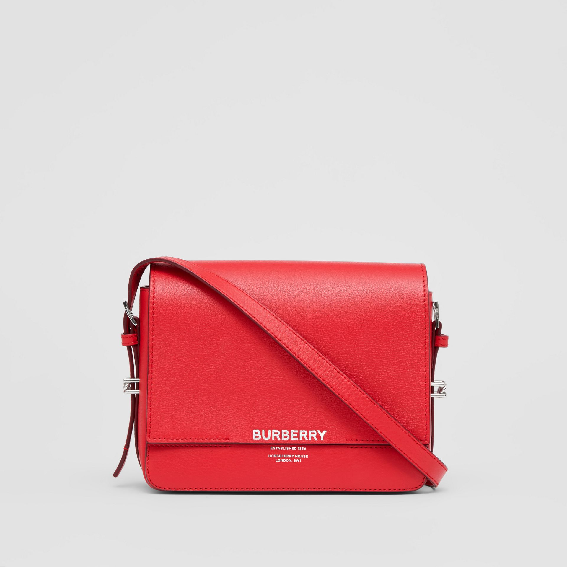 Small Leather Grace Bag in Bright Military Red - Women | Burberry - gallery image 0