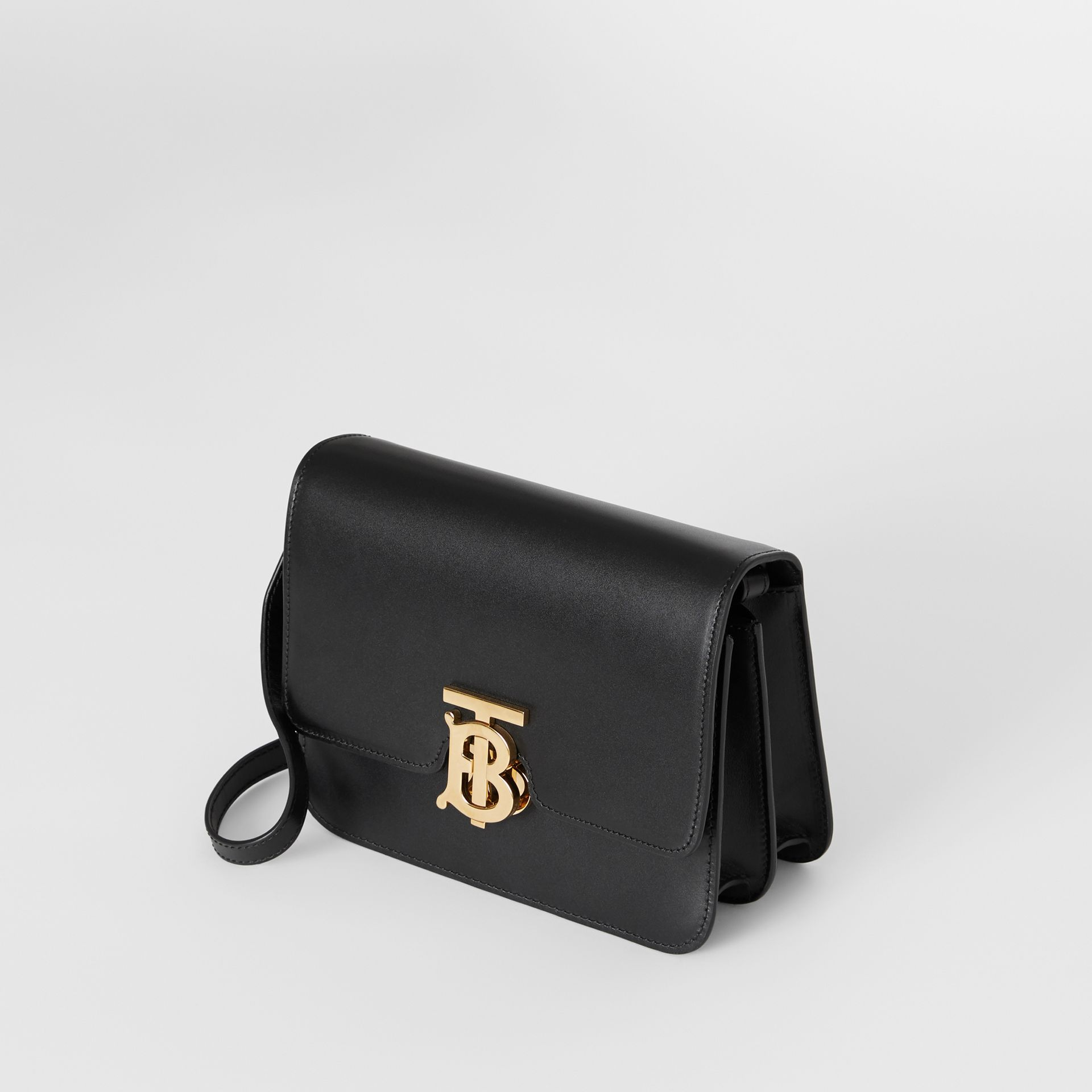Small Leather TB Bag in Black - Women | Burberry - gallery image 4