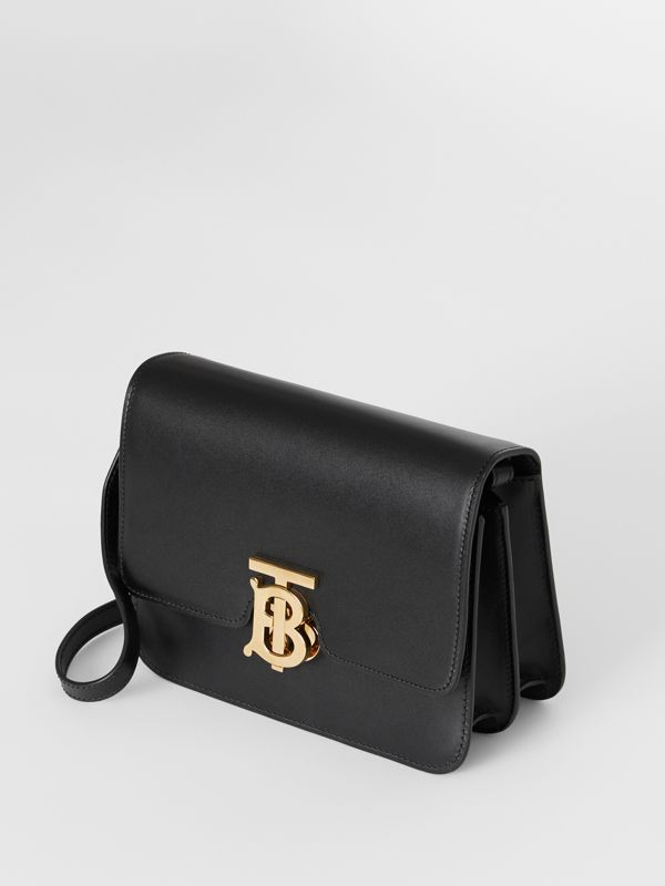 Small Leather TB Bag in Black - Women | Burberry - cell image 2