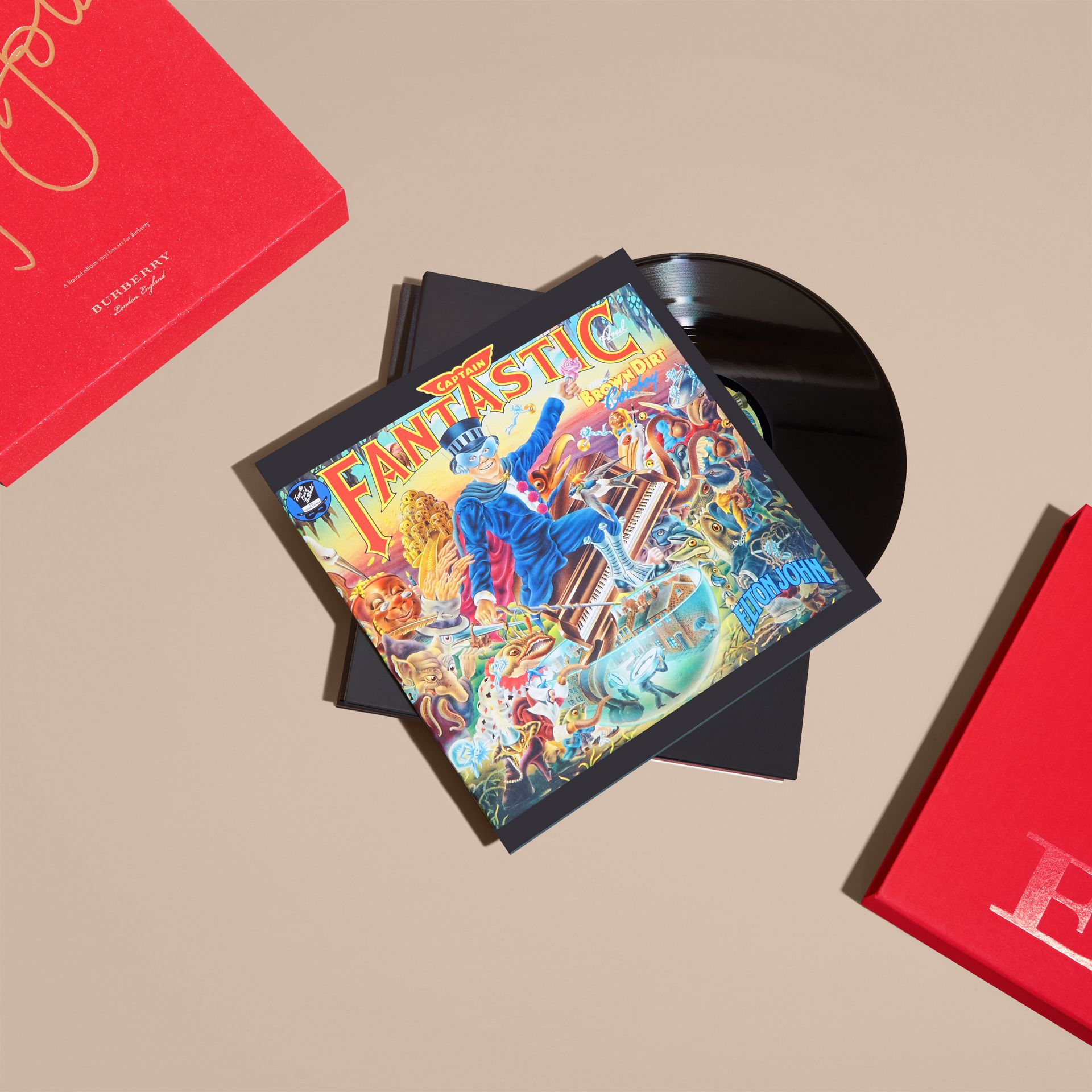 Multicolour Elton John: A Limited Edition Vinyl Box Set for Burberry - gallery image 6