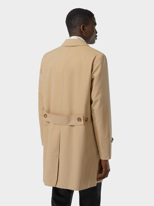 Cotton Gabardine Lab Coat in Honey - Men | Burberry - cell image 2